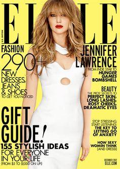 Jennifer Lawrence, Elle, December 2012