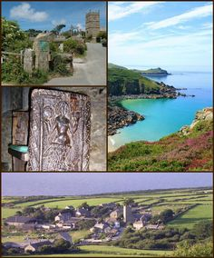Zennor, the church is home to the Mermaids Chair, located near The Atlantic Ocean reports of the Mermaid luring men to their deaths by drowning abound. Beautiful Village. Zennor /ˈzɛnʊər/is a village and civil parish in Cornwall. The parish includes the villages of Zennor, Boswednack and Porthmeor and the hamlet of Treen. It is located on the north coast, about 6 miles (10 km) north of Penzance. It lies along the B3306 road which connects St Ives to the A30 road. Alphabetically, the parish… North Cornwall, Devon And Cornwall, South Devon, St Ives, North Coast, Sea Level, Atlantic Ocean, The Locals, Natural Beauty
