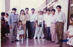 Khem Veasna on 05.05.1995 at PP airport.