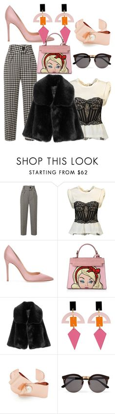 """""""MIDNIGHT TRAIN"""" by laura-melissa-cortes on Polyvore featuring Petar Petrov, Alexander Wang, Toolally and Illesteva"""
