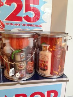 Bath and Body Works Fall basket