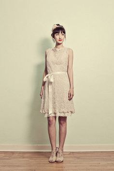 Vintage Inspired Lace Shift Dress