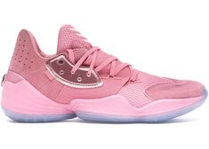 adidas Harden Vol. 4 Pink Lemonade Check out the adidas Harden Vol. 4 Pink Lemonade available on StockX James Harden Shoes, For Sale Sign, Pink Lemonade, Blue Gold, Basketball Shoes, Fashion Shoes, High Top Sneakers, Adidas Sneakers, Buy And Sell
