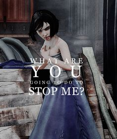 what are you going to do to stop me? #bioshock #infinite