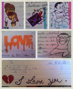 Arte by Miss | Nos tempos de escola...