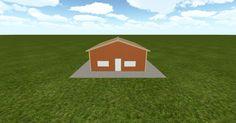 Cool 3D #marketing http://ift.tt/2aiAkgK #barn #workshop #greenhouse #garage #roofing #DIY