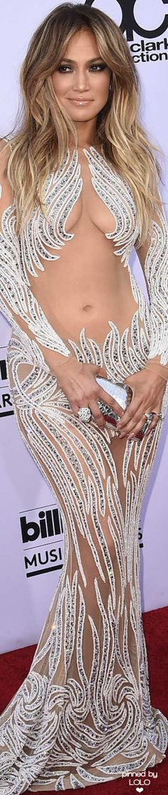 Jennifer Lopez in Charbel Zoe 2015 Billboard Music Awards | LOLO❤