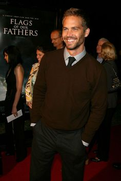 Paul Walker #  Flags of our fathers # premiere