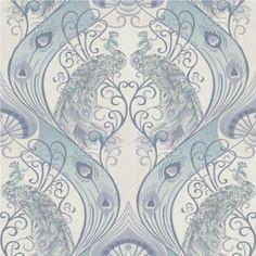 Graham-Brown-Wallpaper-Roll-Luxury-Pendleton-Peacock-Feathers-Damask-Vinyl-10m