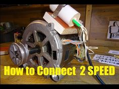 How to Connect Capacitor to Brushless Washing Machine Motor - YouTube