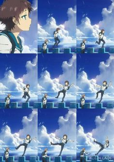 A Lull in the Sea opening 1- Hikari :) this part makes me laugh so much XD he he his face lol
