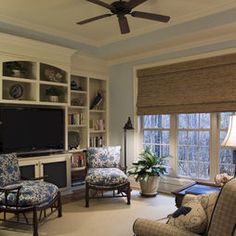 Window coverings have come back into the market with a boom today. There are a variety of window coverings available in the market nowadays. Diy Design, Interior Design, Design Ideas, Room Interior, Interior Ideas, Fabric Design, Design Inspiration, Home Entertainment Centers, Entertainment Wall