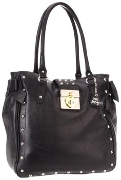 Betsey Johnson Satchel,Black