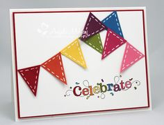 Stampin' Up! -  Pennant Punch and 2012 Sale-a-Bration Outlined Occasions set