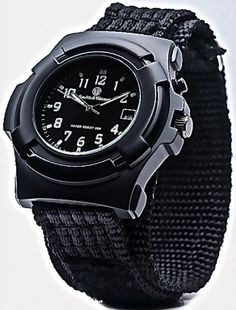 Smith Wesson Law Enforcement Lawman Federal Agent Tactical Watch Black Strap | eBay