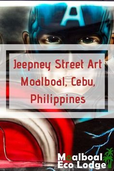 The Filipino Jeepney (Jeep) is a proudly Pinoy national symbol. A jeepney is a brightly painted bus used as public transport in the Philippines, but jeepneys to me are art on wheels. Moalboal Eco Lodge share photos of Jeepney Street Art in Moalboal, Cebu. Philippines Culture, Philippines Travel, Bob Marley Painting, Jeepney, Popular Paintings, Filipino Culture, Cebu City, National Symbols, Religious Images