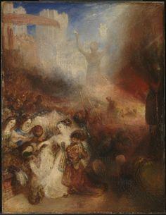 Джозеф Мэллорд Уильям Тёрнер. Седрах, Мисах и Авденаго в пещи огненной. 1832