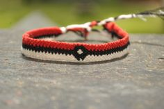 Pokemon Friendship Bracelet by sweetthreadss on Etsy, $10.50