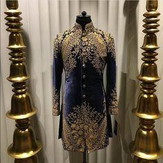 Sherwani For Men Wedding, Wedding Dresses Men Indian, Wedding Outfits For Groom, Sherwani Groom, Wedding Dress Men, Wedding Suits, Indian Groom Dress, African Wear Styles For Men, Dress Suits For Men