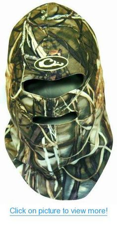 Drake Waterfowl EST Silencer Micro-Fleece Face Mask