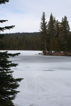 Fuller Lake off hwy 20