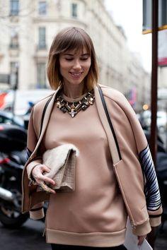 Street Style в заснеженом Париже (трафик) / Street Style / ВТОРАЯ УЛИЦА