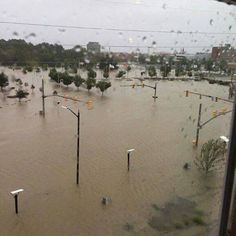 For those that know Downtown Fayetteville and where our club is this isn't far from where we are.  Fortunately our location and our friends on the first floor (Embrace Yoga Studio and Rubiera Photography) were spared from this type of flooding.