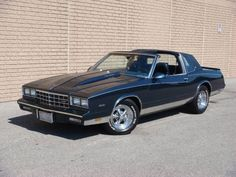 A Clean 1985 Chevrolet Monte Carlo Street-Cruising G-Body With T-Tops.