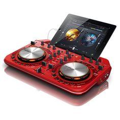 Pioneer DDJ-WeGO2 rood DJ MIDI controller