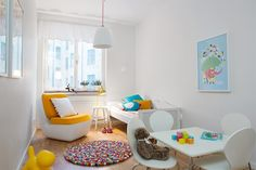Funky, fun kids bedroom!