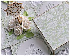Witajcie! W ostatnim wpise na blogu sklepowym pokazałam Wam dwie karteczki przygotowane z okazji I Komunii Świętej, w dzisiejszym wpisie chciałam Wam pokazać, że ną tę okazję możecie również przygotować inną formę pamiątki – exploading box, który bedzie idealnym prezentem...