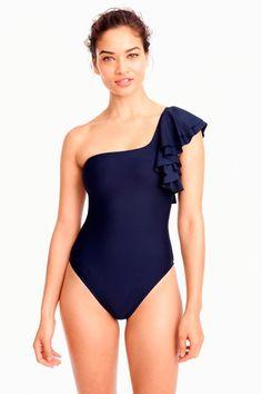 Women's Swim : Bikinis, One-Pieces & One Shoulder Swimsuit, One Piece Swimsuit, Summer Suits, Swimming Costume, Classy Casual, Beachwear, Swimwear, Summer Trends, Feminine Style