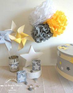 Boîte à dragées mariage ou baptême thème étoiles. Contenant gris étoiles argent http://www.maison-des-delices.fr/contenants-a-dragees-mariage-etoile-1075
