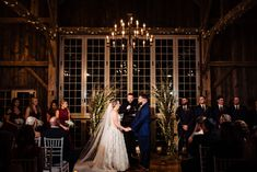 An evening autumn ceremony in the Manor Barn Loft. Barn Loft, House Property, Twinkle Lights, Photo Credit, Wedding Ceremony, Autumn, Photography, Beautiful, Fall