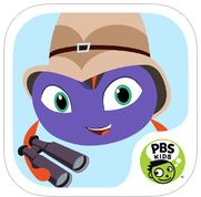 Completely Free PBS Kids apps!  Plum's Photo Hunt Get kids exploring outdoors with this free photo app from PBS KIDS! Plum's Photo Hunt is part of PLUM LANDING, an environmental science media property designed to get kids excited about exploring the wonders of our planet. In this app, Plum, an alien from the Planet Blorb, sends kids on missions outdoors to photograph awesome things that they find in nature like the weather, plants, shadows and bugs.