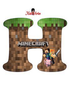 Best Alfabeto Minecraft Images On Pinterest Garlands Parties - Minecraft spiele handy