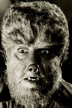 "Lon Chaney Jr. as ""The Wolf-Man"" (1941)"