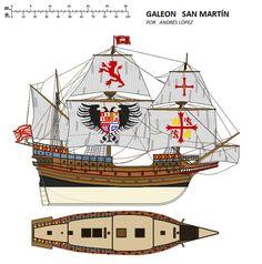 Spanish Armada, Old Sailing Ships, Naval History, Cogs, Treasure Island, Modern Warfare, Tall Ships, Model Ships, Dieselpunk