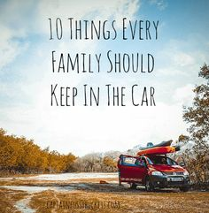 10 Things Every Family Should Keep In The Car