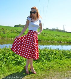 50s style summer outfit