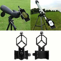 Free shipping!Spotting Scope Cell Phone Holder Astronomical Telescope Universal Stand Mount