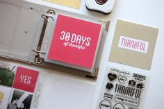 30 Days of Thankful Q & A - how to add photos to a layered template Scrapbook Albums, Scrapbooking, Photo Album Book, Project Life Scrapbook, Prayer Journals, Mini Scrapbooks, December Daily, Handmade Journals, Crafty Craft