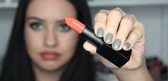 NARS Audacious Lipstick Jane Swatch and Review - Jane is anything but an ordinary girl as her name would imply. She is a terracotta rose lipstick!