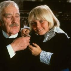 """Alec Guiness & Ricky Schroder, """"Little Lord Fauntleroy."""""""