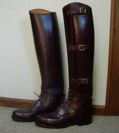 dehner custom riding boots