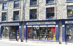 The Carnforth Bookshop in Carnforth, Lancashire, England. Fourteen rooms of books, art and ephemera. You may never leave...