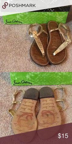Sam Edelman Gigi sandal Sam Edelman Gigi sandals in rose gold; 6M Sam Edelman Shoes Sandals