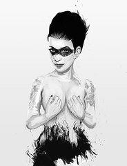 Women Art - untitled III by Balazs Solti