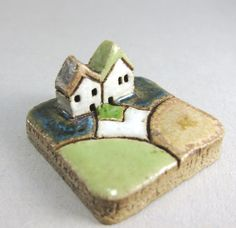MyLand - Pure Love stoneware scene from elukka on etsy