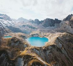 Taking the scenic route over the Swiss Alps.. I wish we had more time to come back to this lake for a swim..